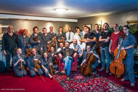 Footage Spencer the Rover with The Late Chamber Orchestra & Friends 27/07/2018